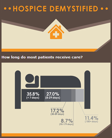 Hospice Demystified Infographic