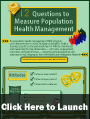 12 Questions to Measure Population Health Management