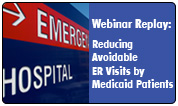 Reducing Avoidable Medicaid ER Visits