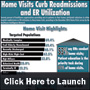 Hinfographic: Home Visits Curb Readmissions and ER Utilization